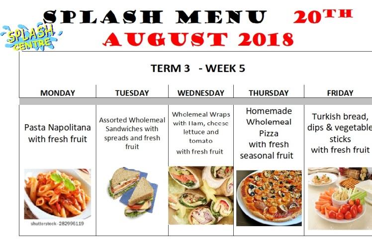 menu week5